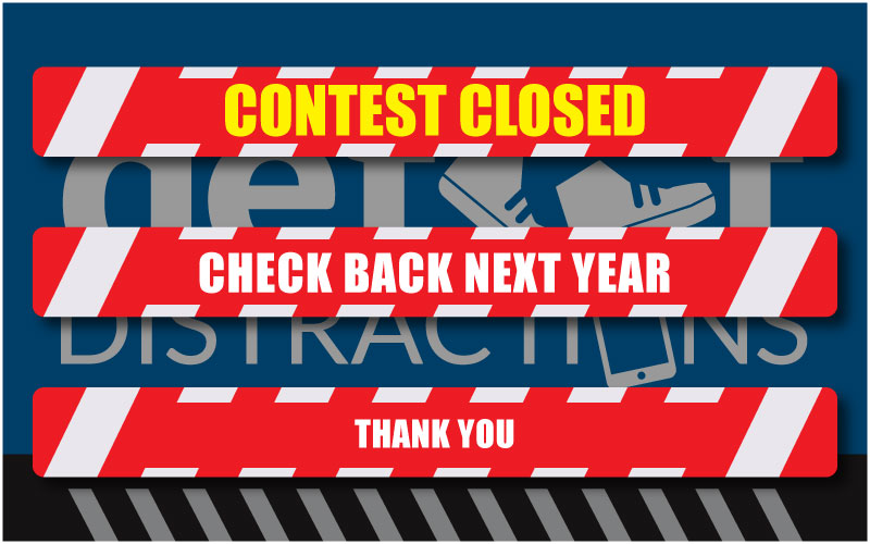 Defeet Distractions contest closed logo
