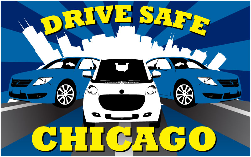 drive safe chicago logo