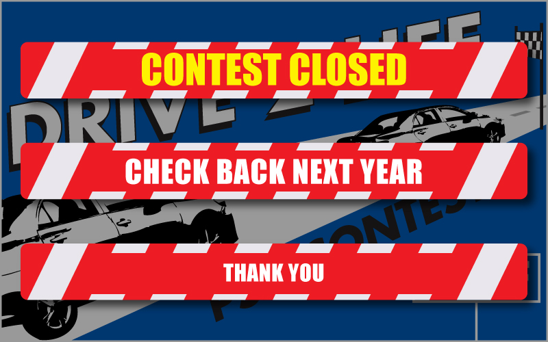 drive2life contest closed