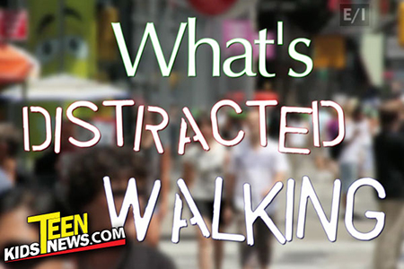 what's distracted walking