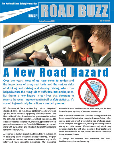 Road Buzz: Spring/Summer 2011 cover